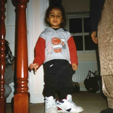 1997. I'm not quite sure whose shoes these are but they're certainly not mine.