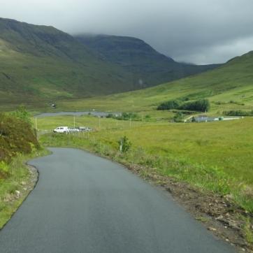The Elgol road