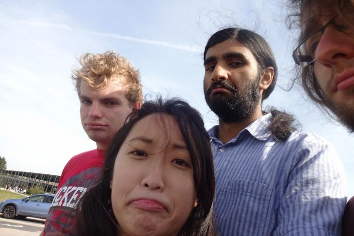 Faces of dismay at Stonehenge