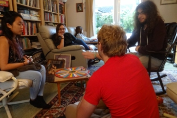 Playing Articulate at Ex-Linguistician's house