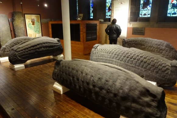 Hogback stones