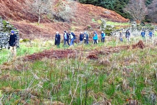ASNaCs walking around Kilmory Oib