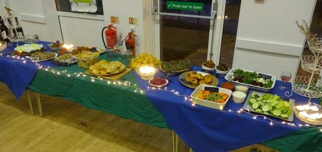 Various foodstuffs
