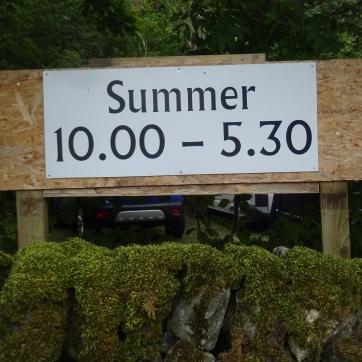An amusing sign in Kilmartin