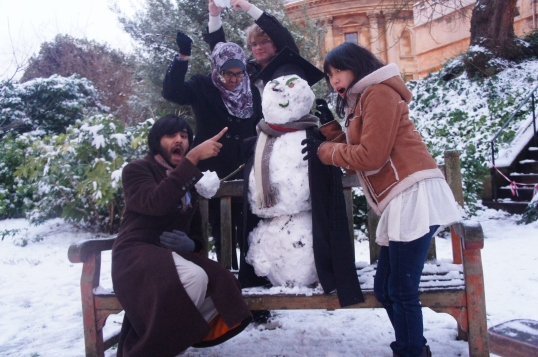 Our snow-student