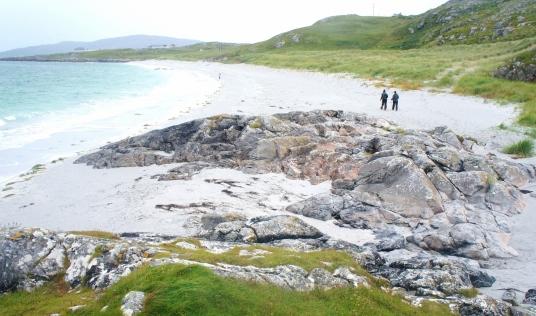 Beach on North Uist or Benbecula