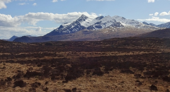Mountains on Skye