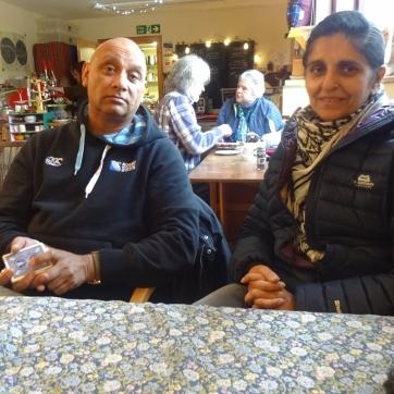 The Dearest Progenitors in the café