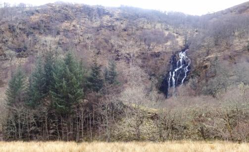 Waterfall near Eileanreach