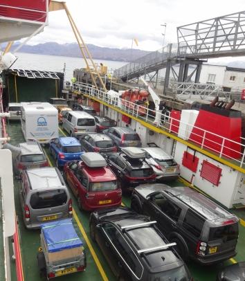 The Armadale-Mallaig ferry