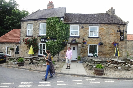 The Bell Inn, source of our lunch