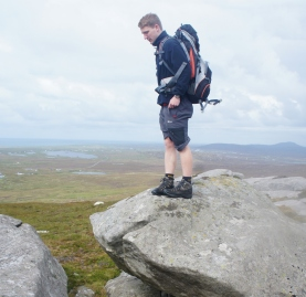 Climbing Programmer contemplates a leap