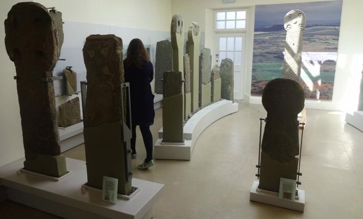 The stones exhibition