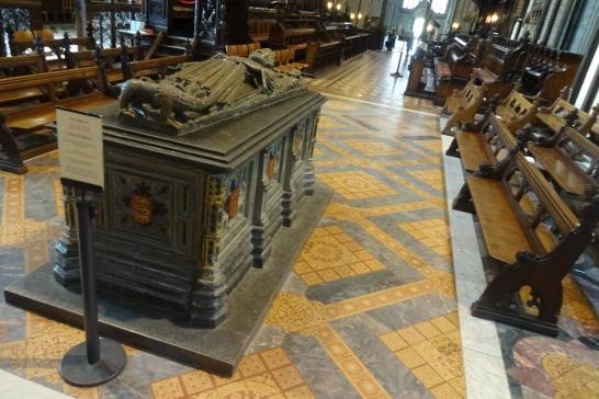 The tomb of King John